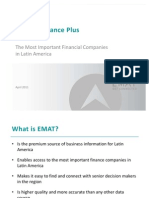 EMAT Finance Plus Presentation