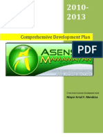 Comprehensive Development Plan 2010-2013