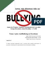 1 Plano Educacional Antibullying Gabriel Nascimento de Carvalho Gejo Am