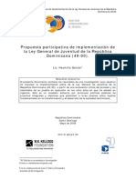 Hecmilio Galván - Investigacion Ley de Juventud