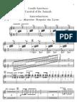 Saint-Saens - Carnaval Animaux - Piano1