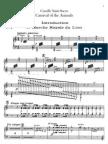 Saint-Saens - Carnaval Animaux - Piano2