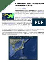 Fukushima, la diffusione della radioattività nella catena alimentare del mare