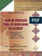 Code de Pratiques Pour Les Musulmans en Occident Sistani