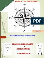 Determinación de Direcciones-Brujula