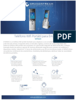 Datasheet Wp820 Spanish
