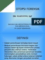 007 Teknik Otopsi Forensik