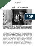 Chile_ O Golpe Contra o Governo Popular – LavraPalavra