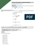 Resolução Da Equação Completa Do 2 Grau