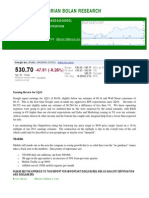 GOOG 1Q11 Earnings Review