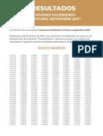 Resultados JOVENES ESCRIBIENDO EL FUTURO 01 PG 1-194