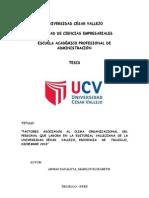 TESIS-CLIMA ORGANIZACIONAL MARILIN ARMAS ZAVALETA