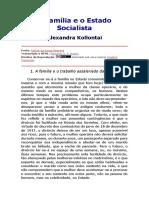 A família e o estado socialista-convertido