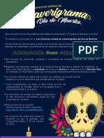 Concurso Calaverigrama del Día de Muertos