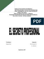 Secreto Profesional Del Abogado