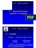 Agrometeorologia aplicada 2010