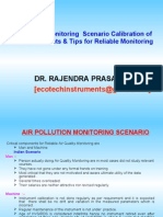 Air Pollution Monitoring  Scenario Calibration of AAQM instruments & Tips for Reliable Monitoring
