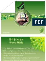 Green Cell Phones Project