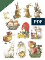 Easter Scrap Sheet