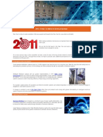 2011 Trends to Watch in Electrical Systems
