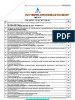 Volume 2, Issue 3 of International Journal of Research in Commerce & Management