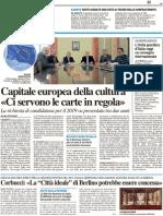 Capitale europea della cultura / Giurisprudenza