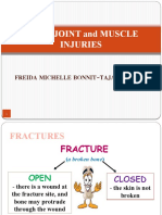 first aid fractures