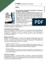 Dossier Pédagogique Partie I