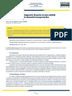 CBR Short Financial Diagnosis for a Transport Entity a149