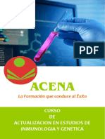 Actualización en Estudios de Inmunología y Genética
