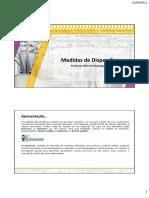 Tema 05 - Medidas de dispersão