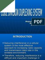 code division Duplexing