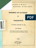 Máquinas de Elevação e Transporte I - Sistemas de Elevação Da Carga