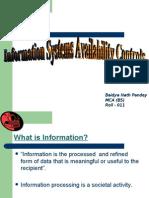 informaition avalibility
