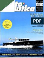 CoverMotoNautica Aprile 2011