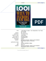 1,001 Ways to Inspire Your Organization, Your Team and Yourself-Mantesh