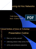 Introducing Ad Hoc Networks