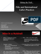 nike code of ethics Nike, the world's largest sports shoe and clothing brand, is to strengthen  in  excess of local laws or nike's code of conduct – in part through efforts by its   the uk-based ethical trading initiative, which supports supply chain.