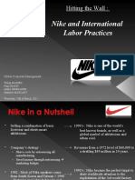 unethical business practices by nike case study