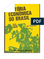 PRADO JR. Caio (194X) Historia Economica Do Brasil