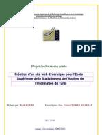 Conception et Création d'un site web dynamique (HTML, JSP, JAVA-SCRIPT)