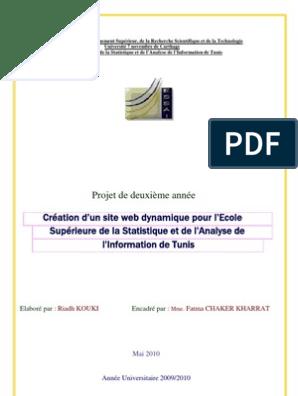 Conception Et Création Dun Site Web Dynamique Html Jsp Java