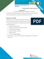 ACTIVIDADES 03 SEMANA 03