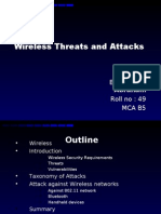 Wireless Threats and Attacks2