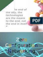 ZeroConfiguation Networking