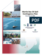 Manila Bay Oil Spill Contingency Plan