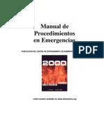 Musse, José. Manual procedimientos en emergencias Bomberos