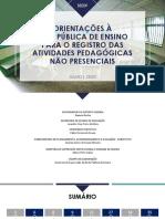 Orientações à rede pública de ensino-ENVIO