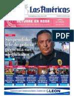 Portada Digital Diario Las Américas 14 Octubre 2021