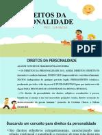 DIREITOS DA PERSONALIDADE - PARTE GERAL